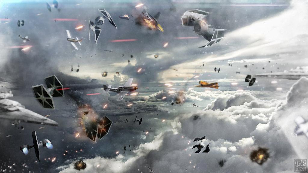 Description Battle above the clouds 1024x576