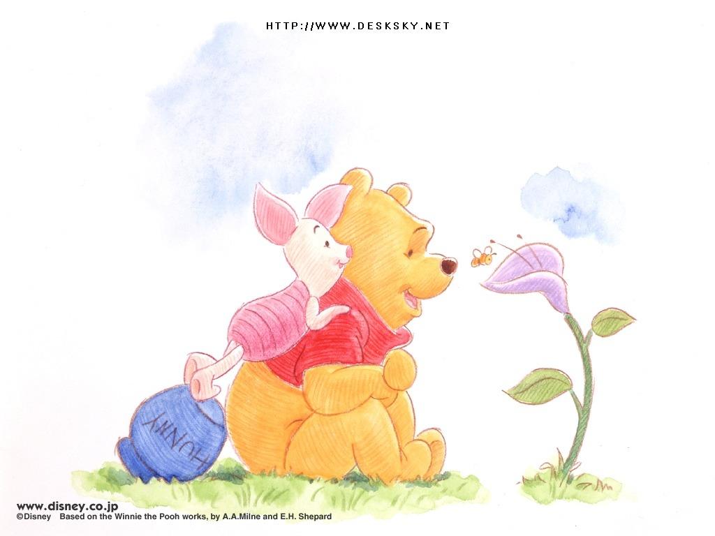 48 classic winnie the pooh wallpaper on wallpapersafari - Winnie the pooh and friends wallpaper ...