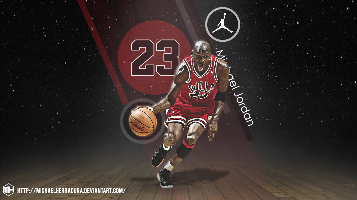 Michael Jordan wallpaper by michaelherradura 1192x670 3e1833edae