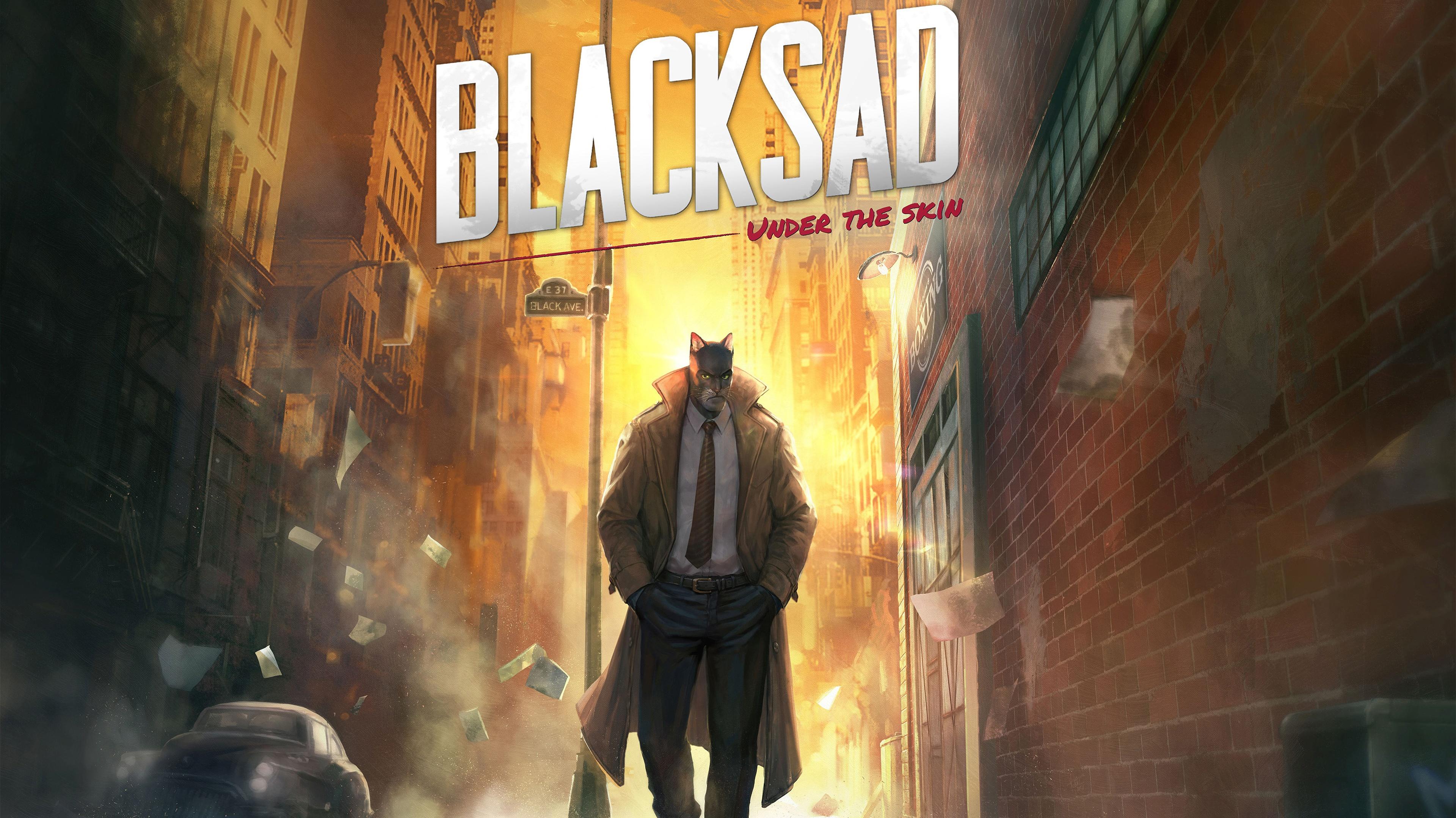 BLACKSAD Under the Skin 4K 8K HD Wallpaper 3840x2160