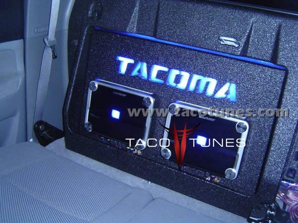 Toyota Tacoma Stereo Pictures Complete Audio System Subwoofer 600x450
