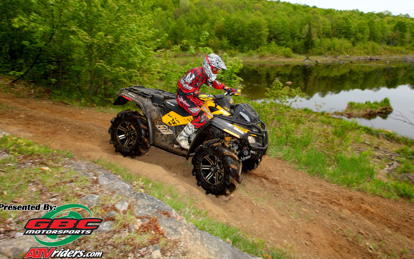 Outlander 800R X mr Mud Performance 4x4 ATV   Wednesday Wallpapers 1680x1050