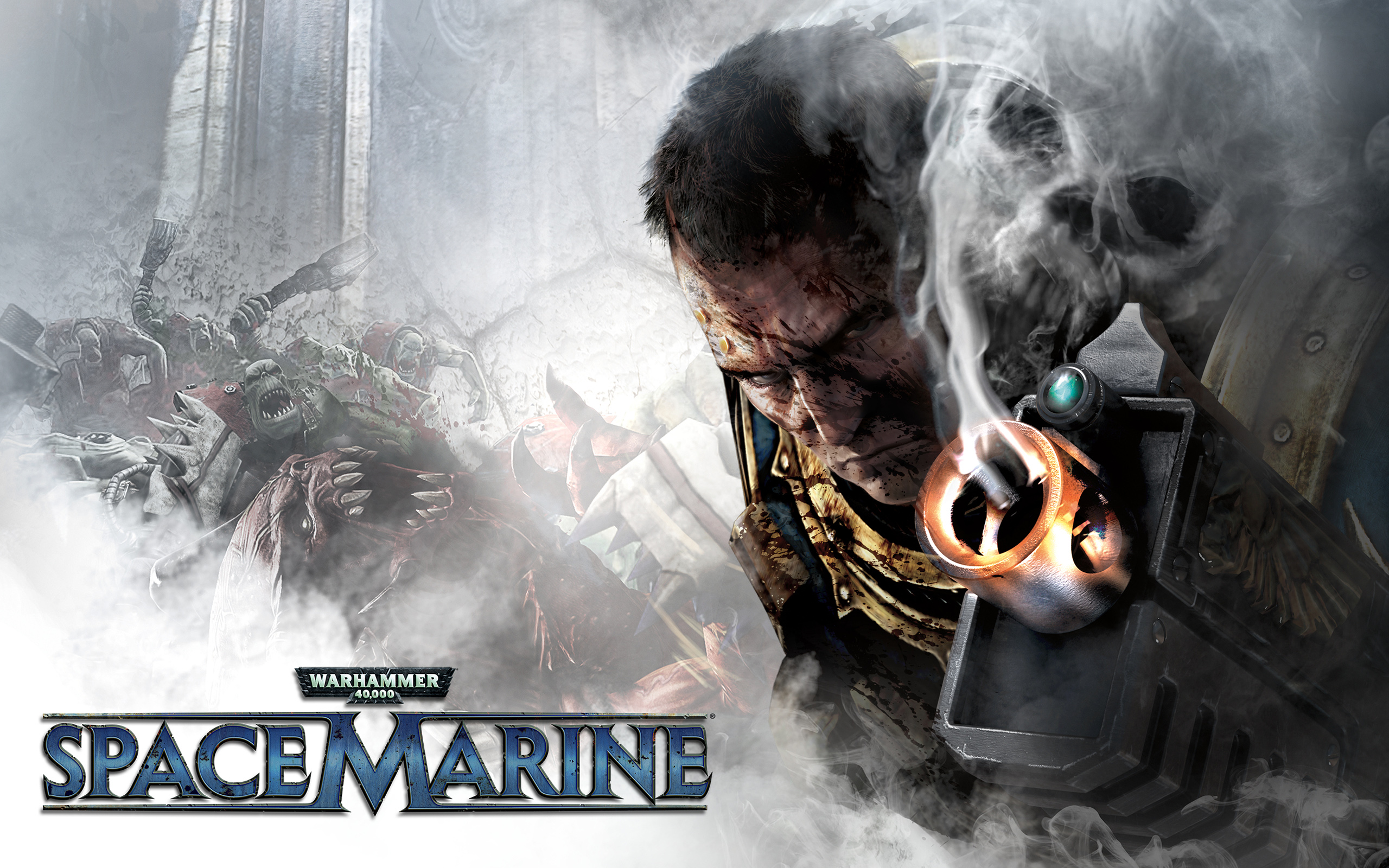 Warhammer Space Marine Game Wallpapers HD Wallpapers 2560x1600