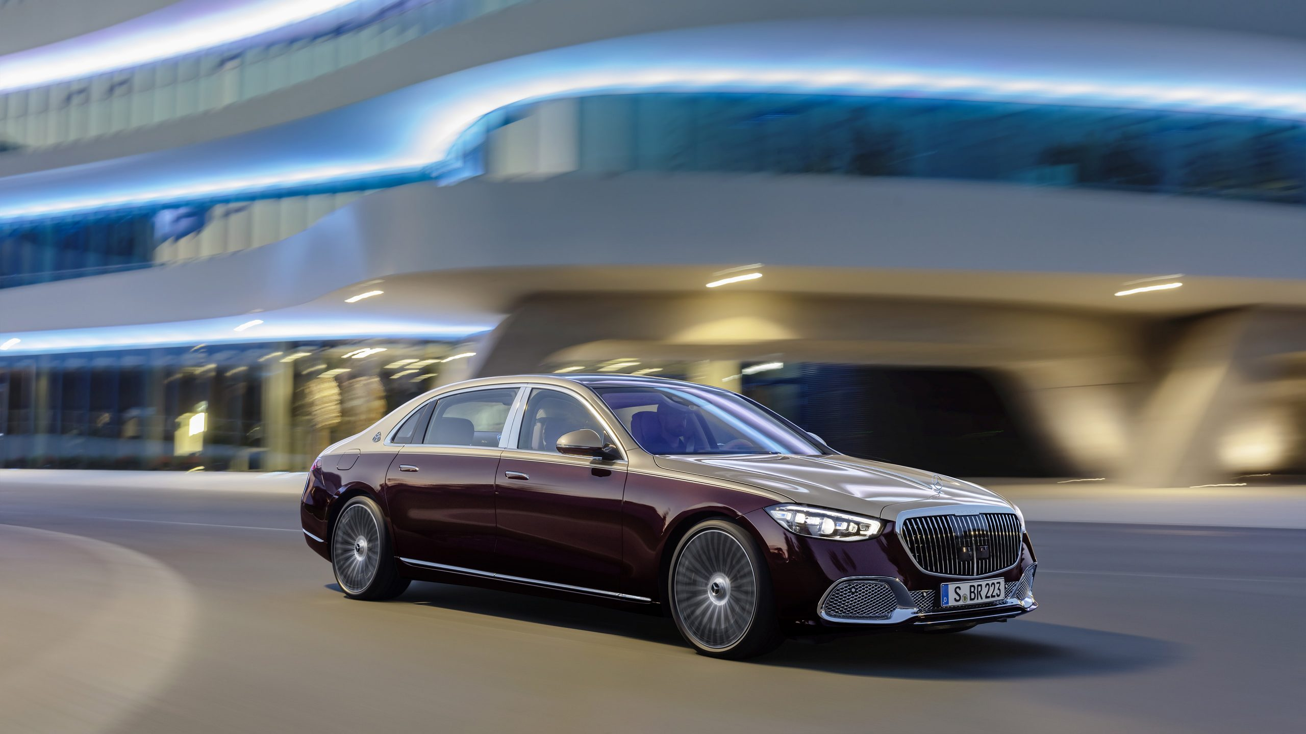 2021 Mercedes Maybach S580 Wallpapers SuperCarsnet 2560x1440