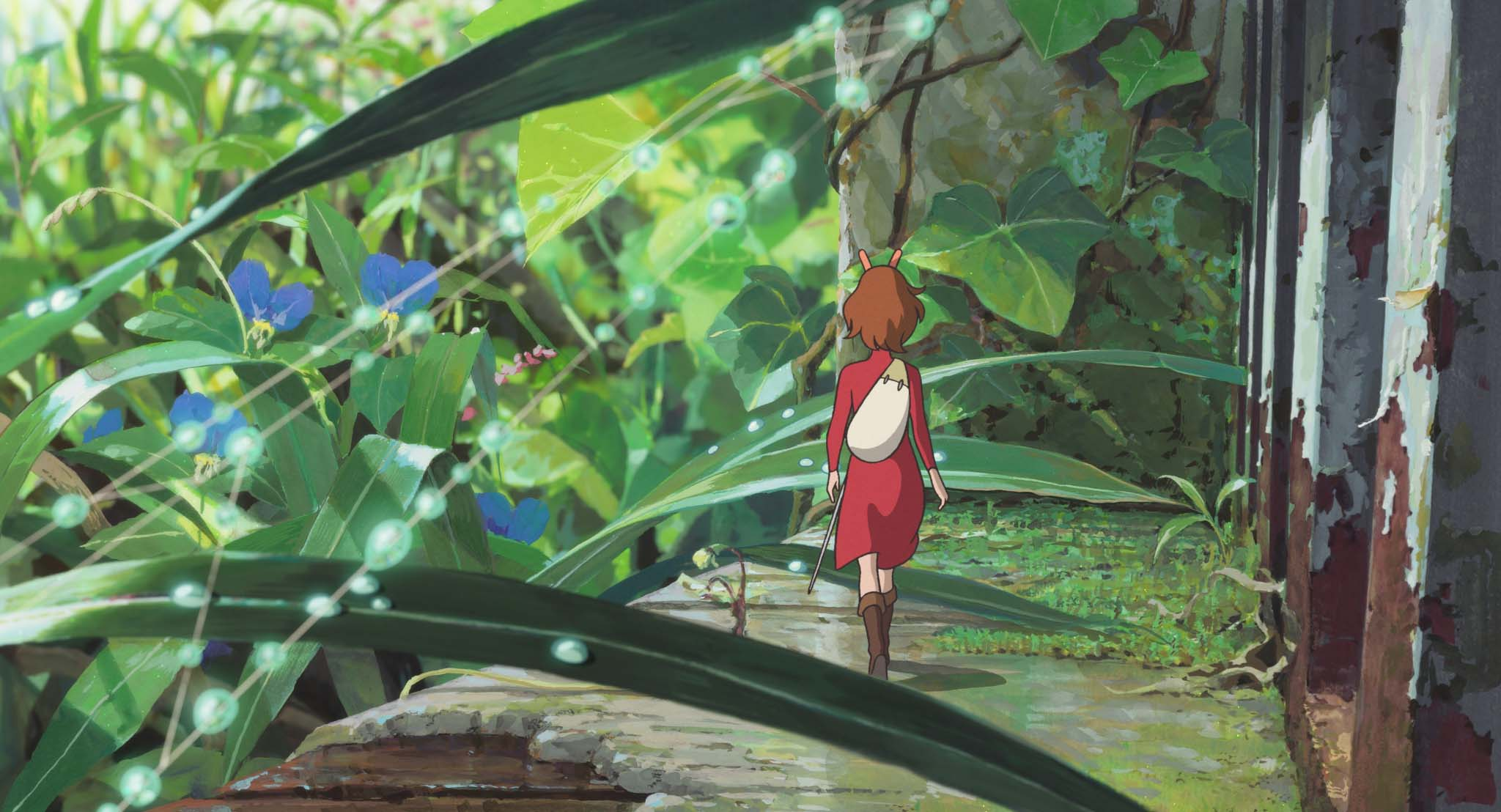 Anime   The Secret World Of Arrietty Wallpaper 2048x1108