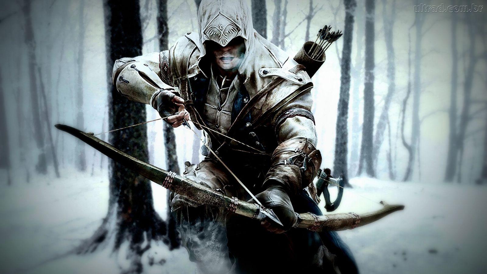 Papel de Parede Connor   Assassins Creed 3 1600x900