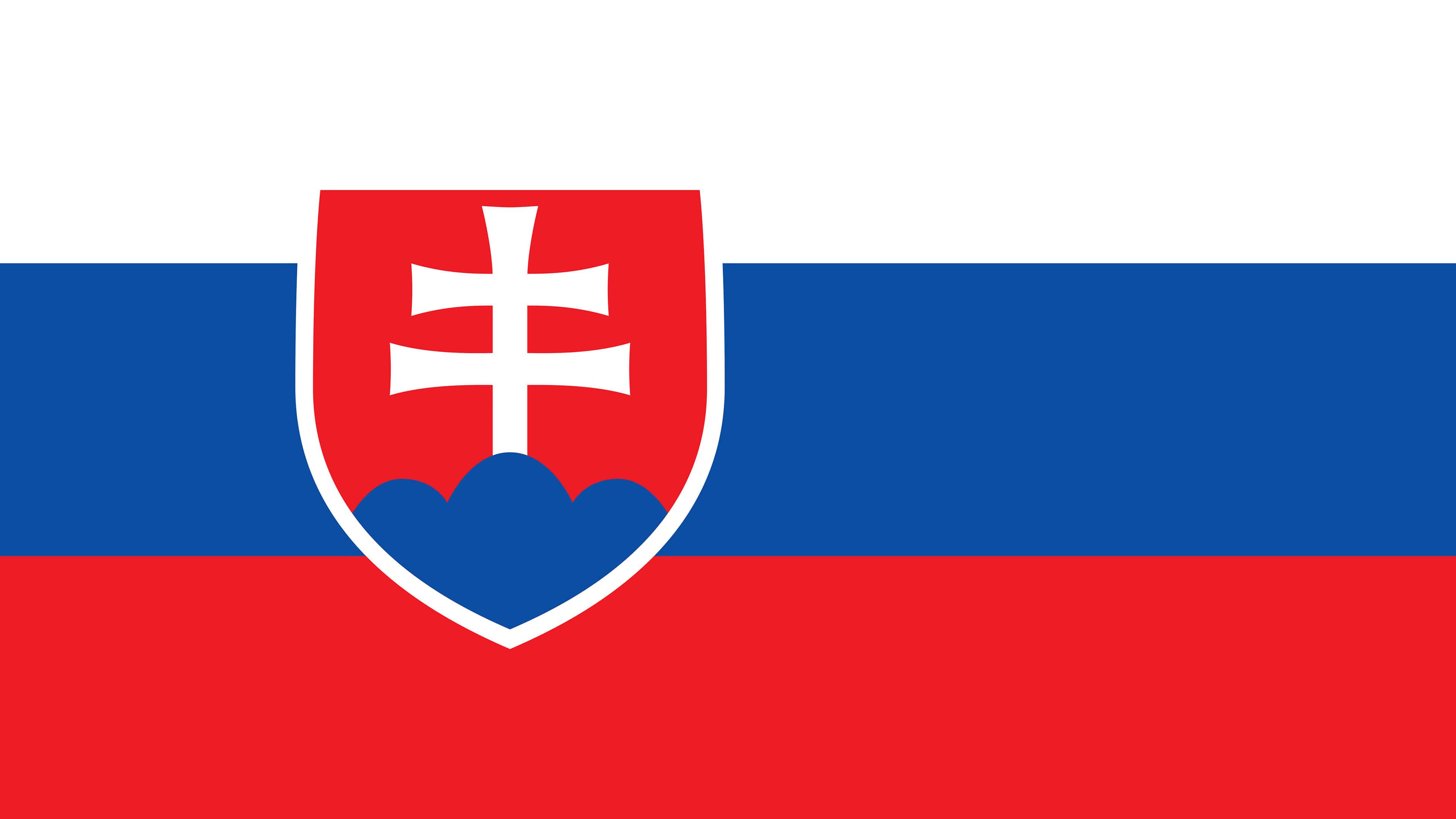 Slovakia Flag UHD 4K Wallpaper Pixelz 3840x2160