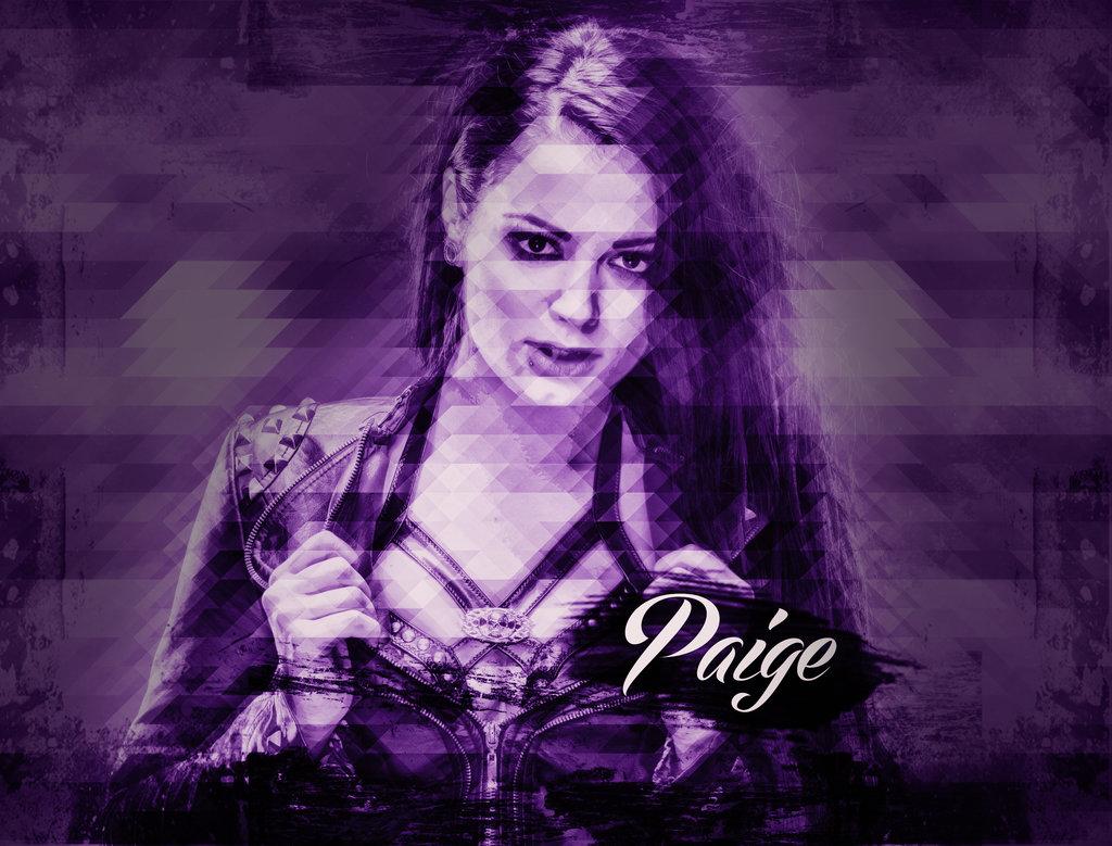 WWE Diva Paige Mosaic Triangle Custom Wallpaper By BullCrazyLight On 1024x779