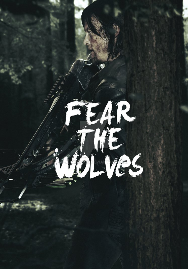 Free Download The Walking Dead Season 6 Daryl Poster By Jevangood