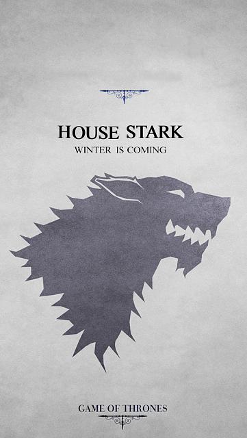 House Stark Wallpaper - WallpaperSafari House Stark Wallpaper Android