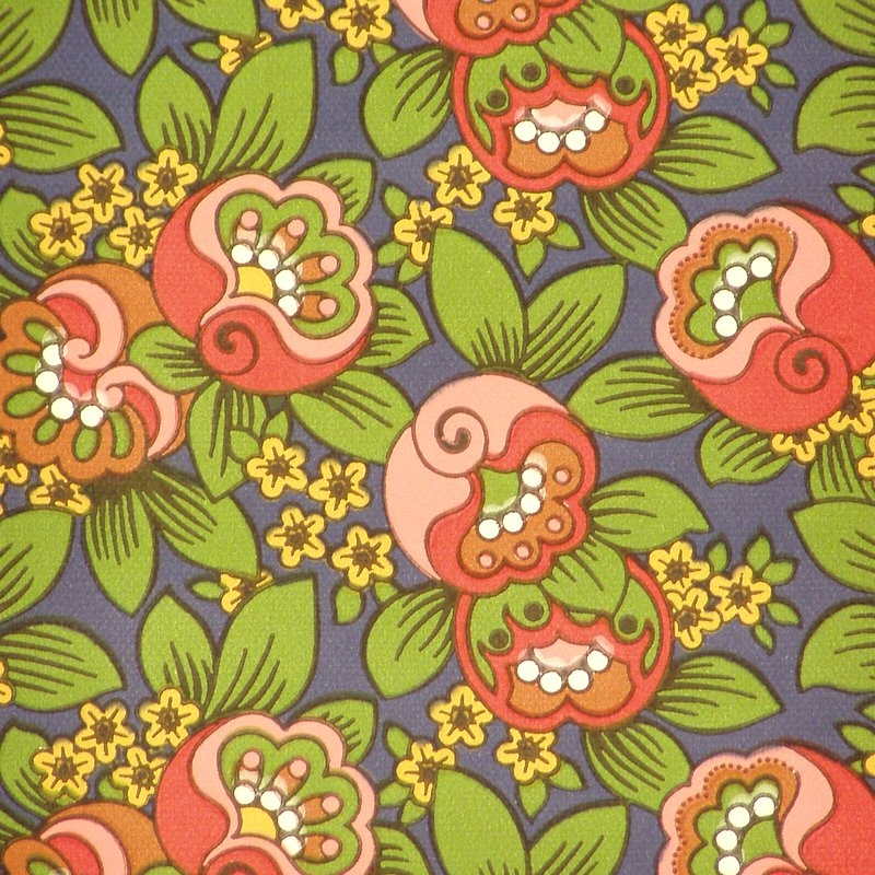 1970s Wallpaper Patterns 800x800