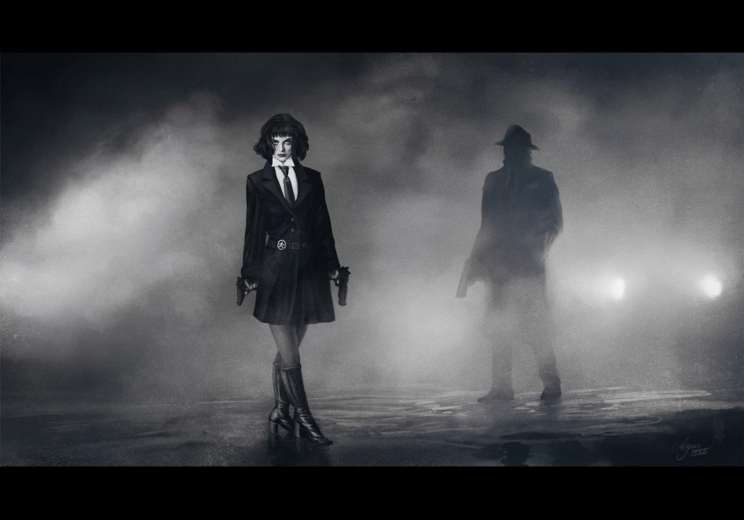 Film Noir I by ReneAigner 1069x747
