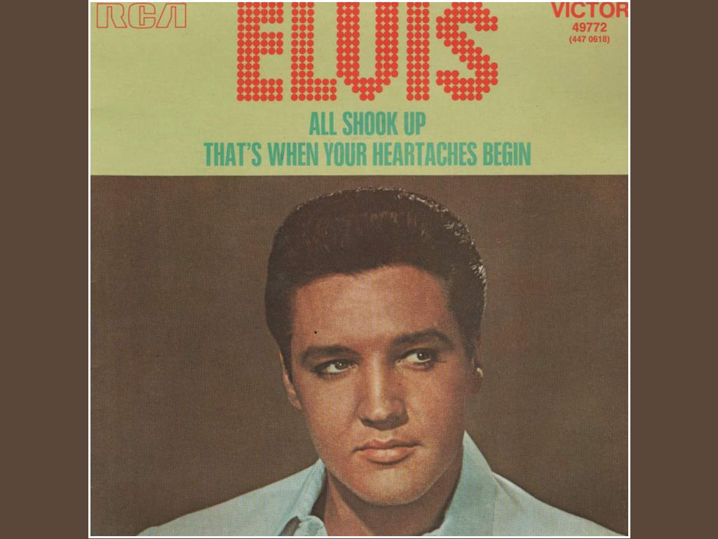 Elvis All Shook Up Cover Wallpaper 1024768 Pictures 1024x768