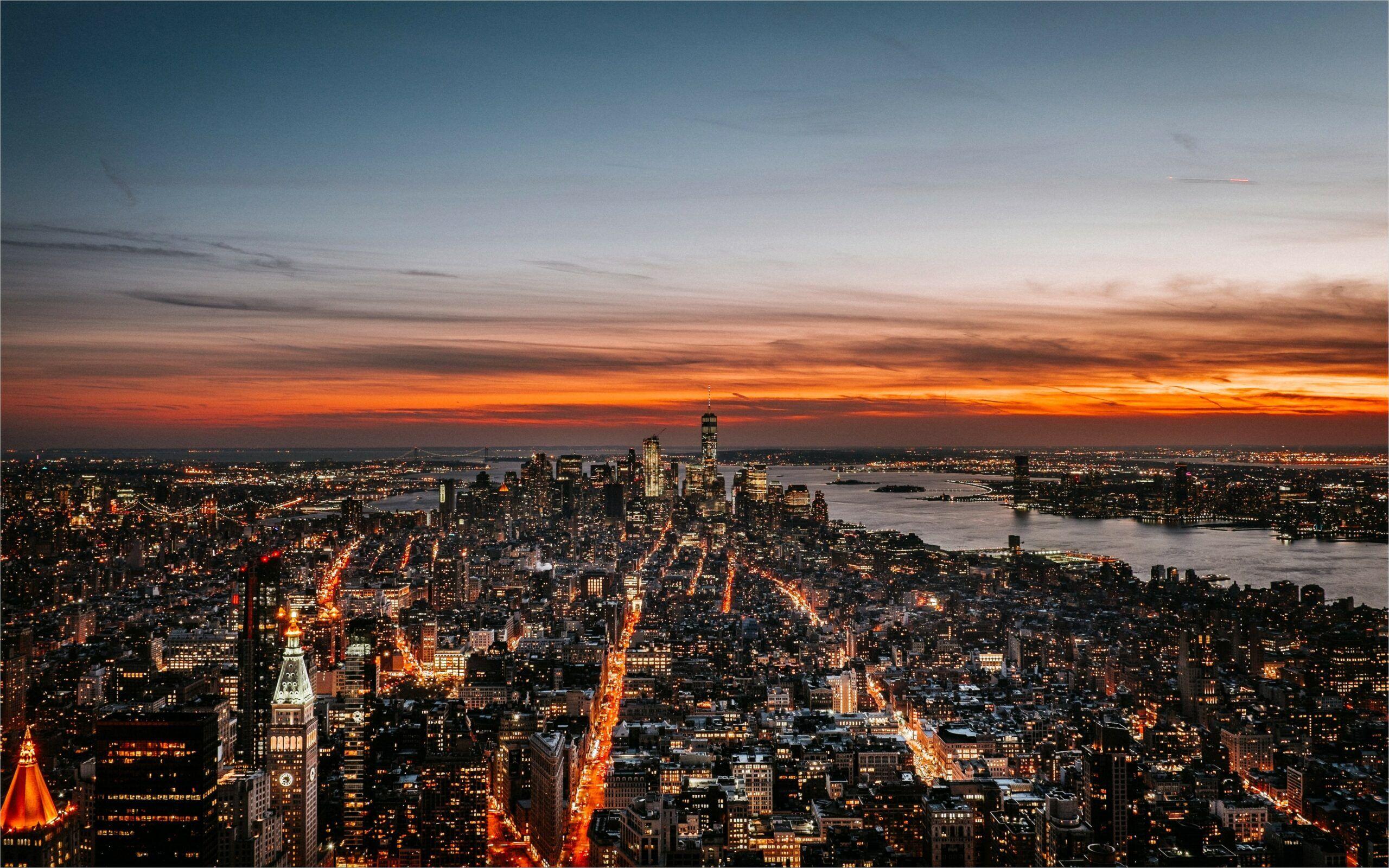 4k Wallpaper City Skyline in 2020 New york city images City 2560x1600