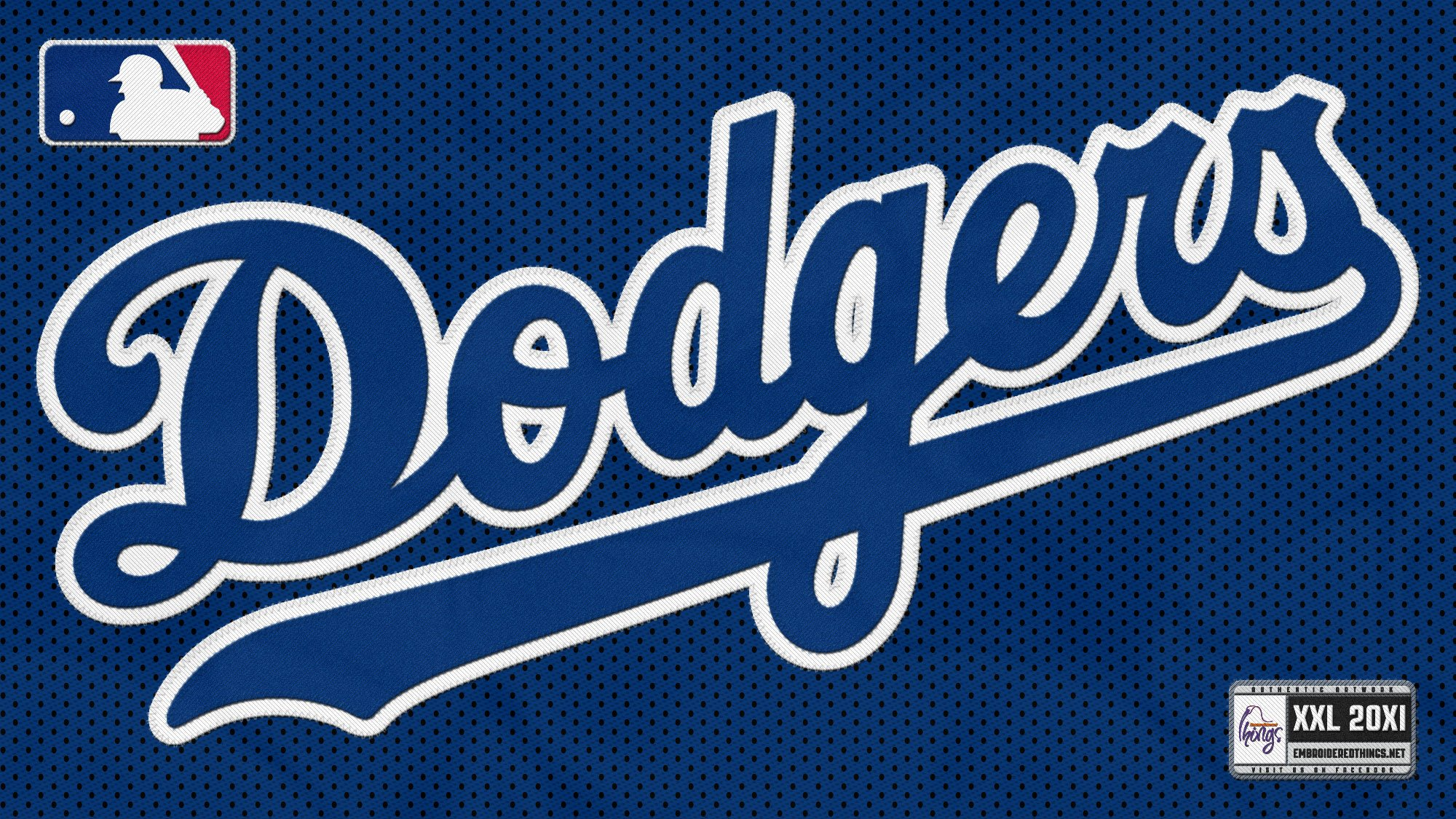 Los Angeles Dodgers Logo Wallpaper