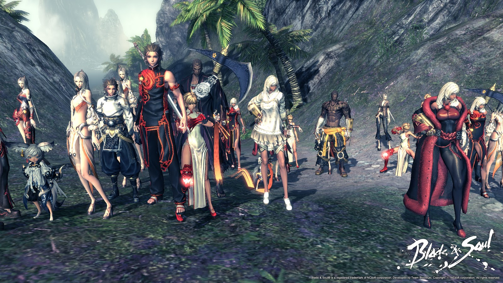 Download Blade and Soul HD Widescreen Creative Graphics Wallpaper 1600x900