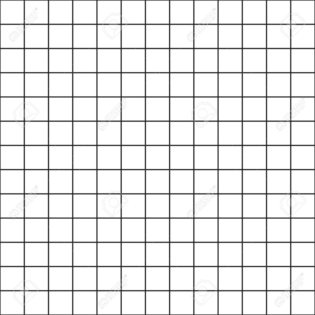 Vector Seamless Chekered Pattern Simple Square Background Royalty 1300x1300
