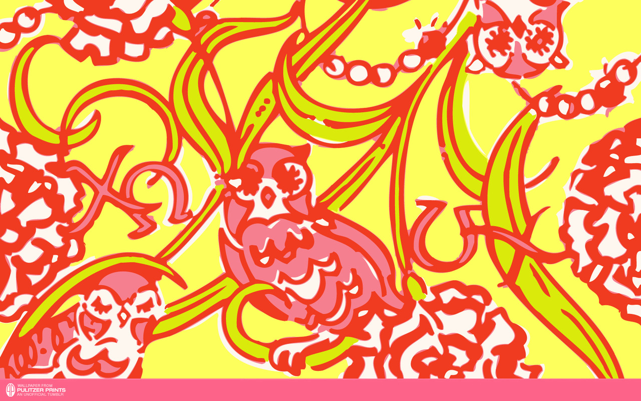 An Unofficial Collection of Lilly Pulitzer Prints   Chi Omega 1280x800