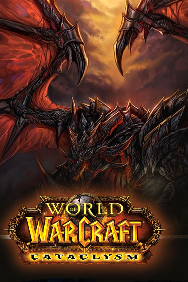 World of Warcraft logo SN07 iPhone wallpapers Background and Themes 640x960
