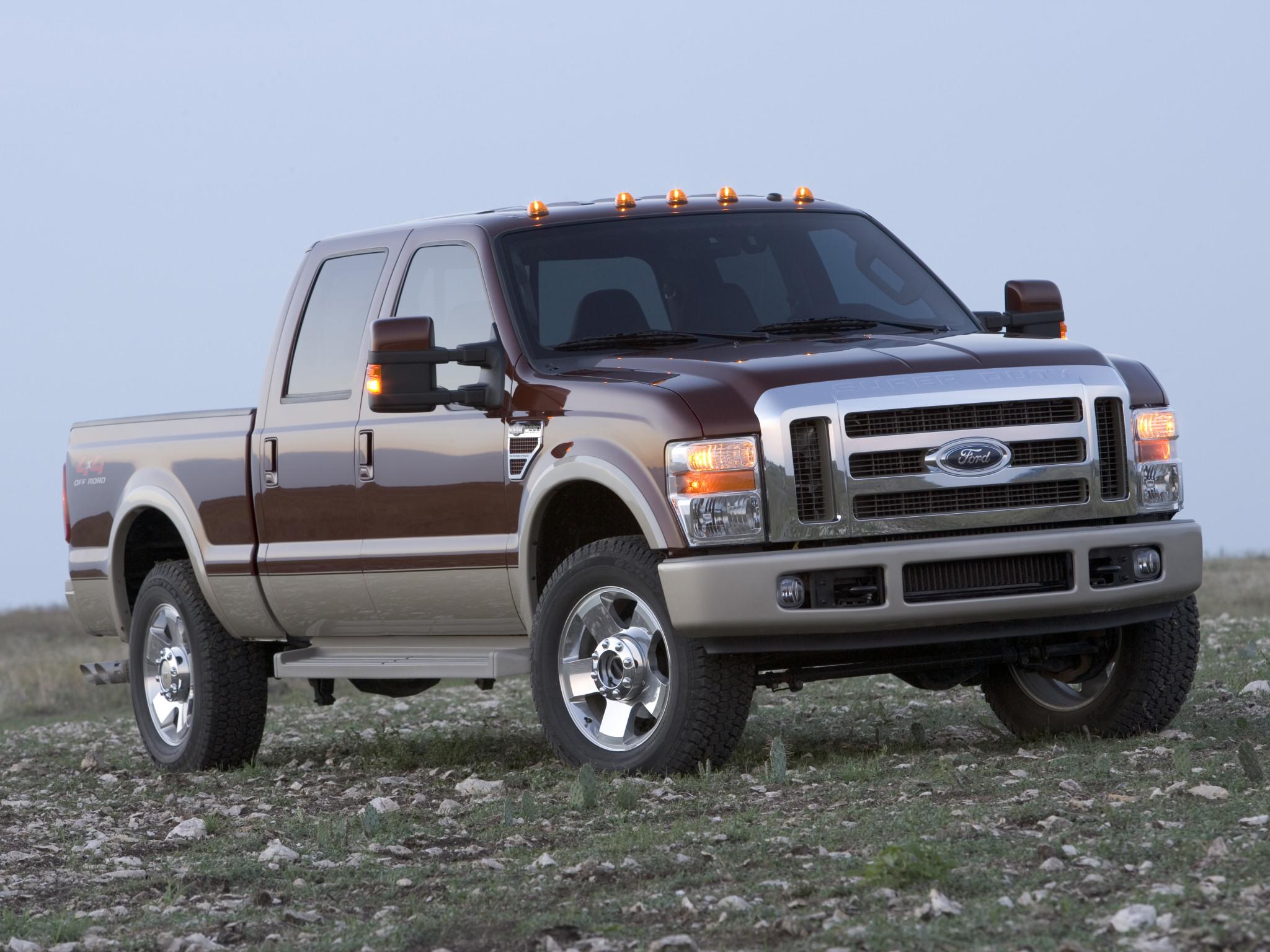 2008 Ford F 250 SuperDuty truck 4x4 wallpaper background 2048x1536