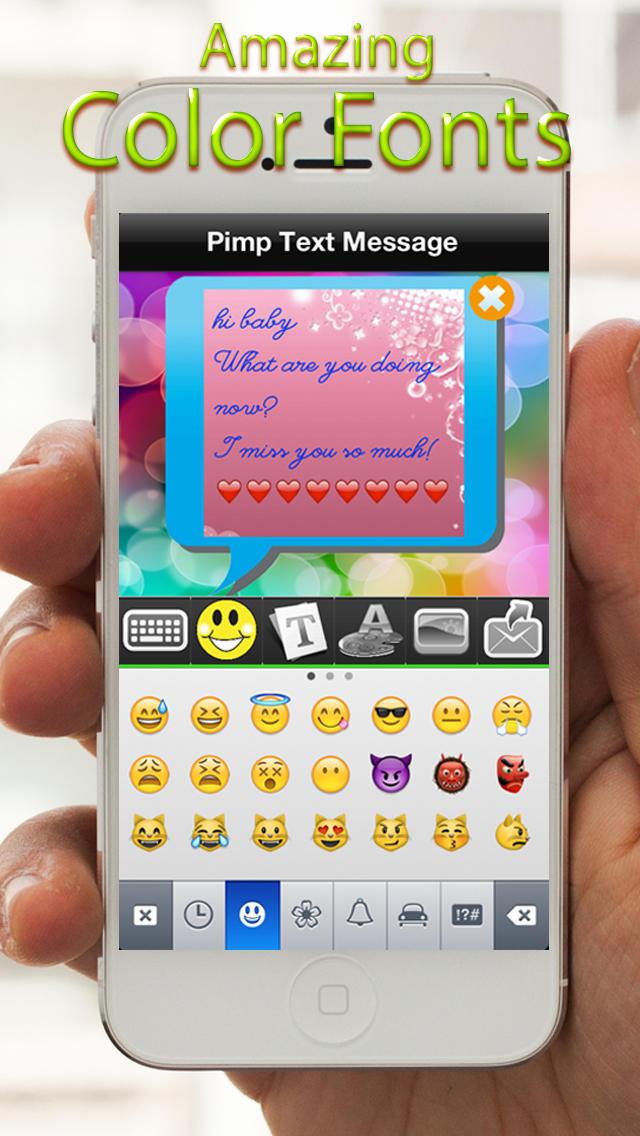 App Shopper Color Fonts You Text Backgrounds Productivity 640x1136