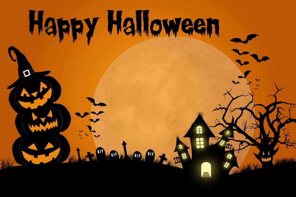 Spooky And Scary Halloween Wallpaper Download Halloween 1000x667