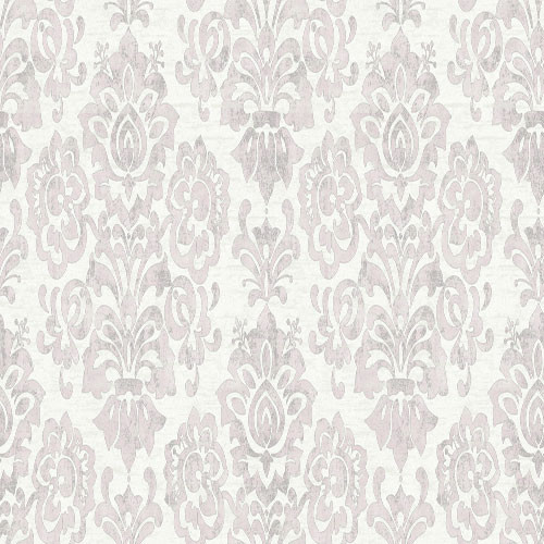 ARA97713 Aurora BOUQUET DAMASK Warner by Brewster Wallcoverings 500x500