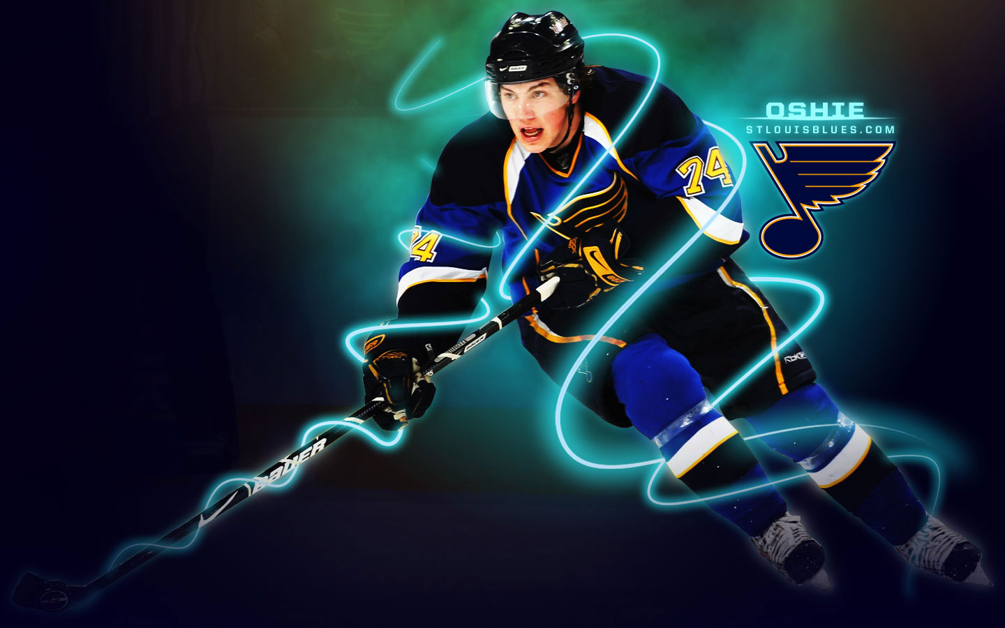 Download St Louis Blues Hockey Wallpaper Full HD Wallpapers 1440x900