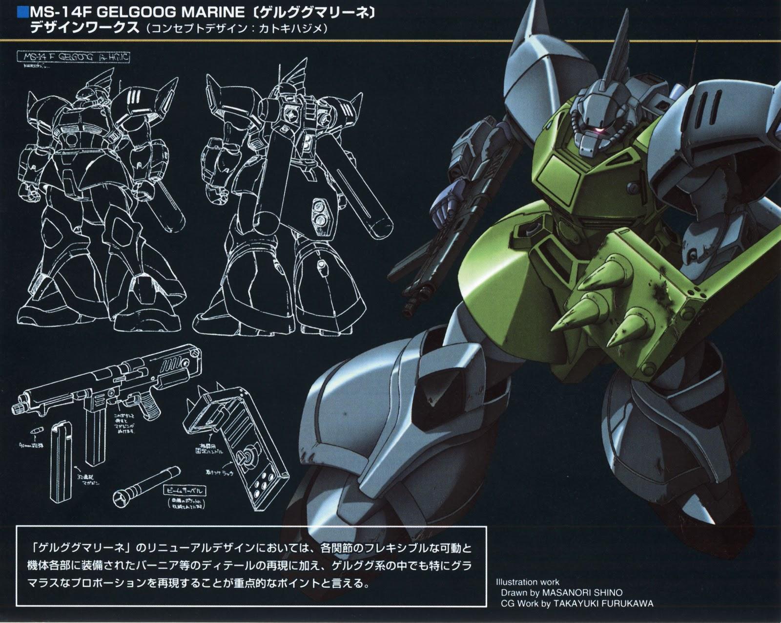 Gundam Walls and LOLS MS 14F Gelgoog Marine HGUC Wallpaper 1600x1275