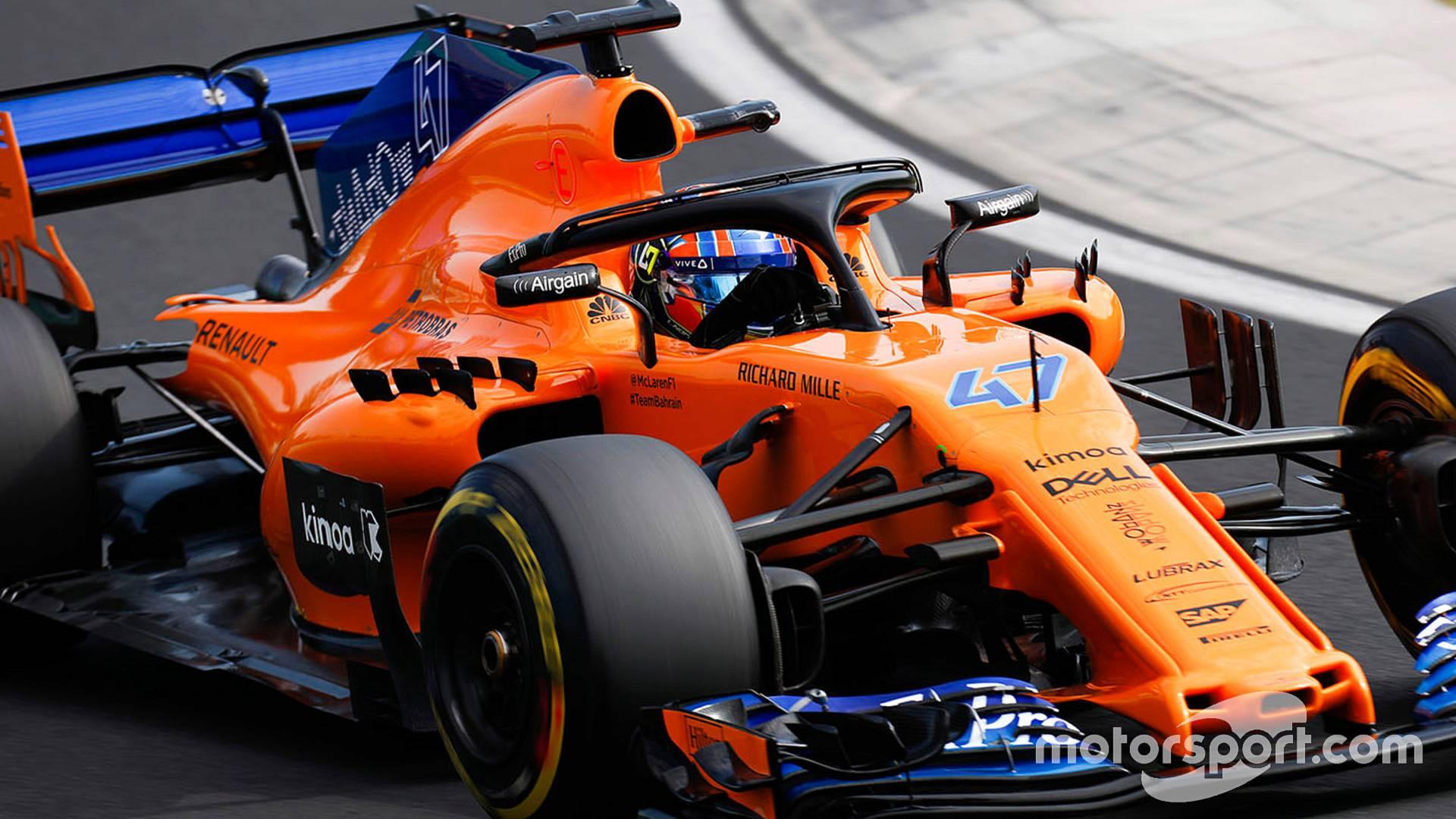 McLaren reserve driver Norris to make FP1 debut at Spa 1920x1080
