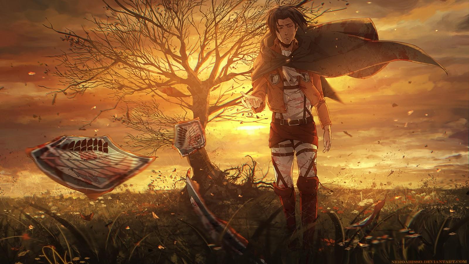 Scouting Legion Attack on Titan Shingeki no Kyojin Anime Wallpaper 1600x900
