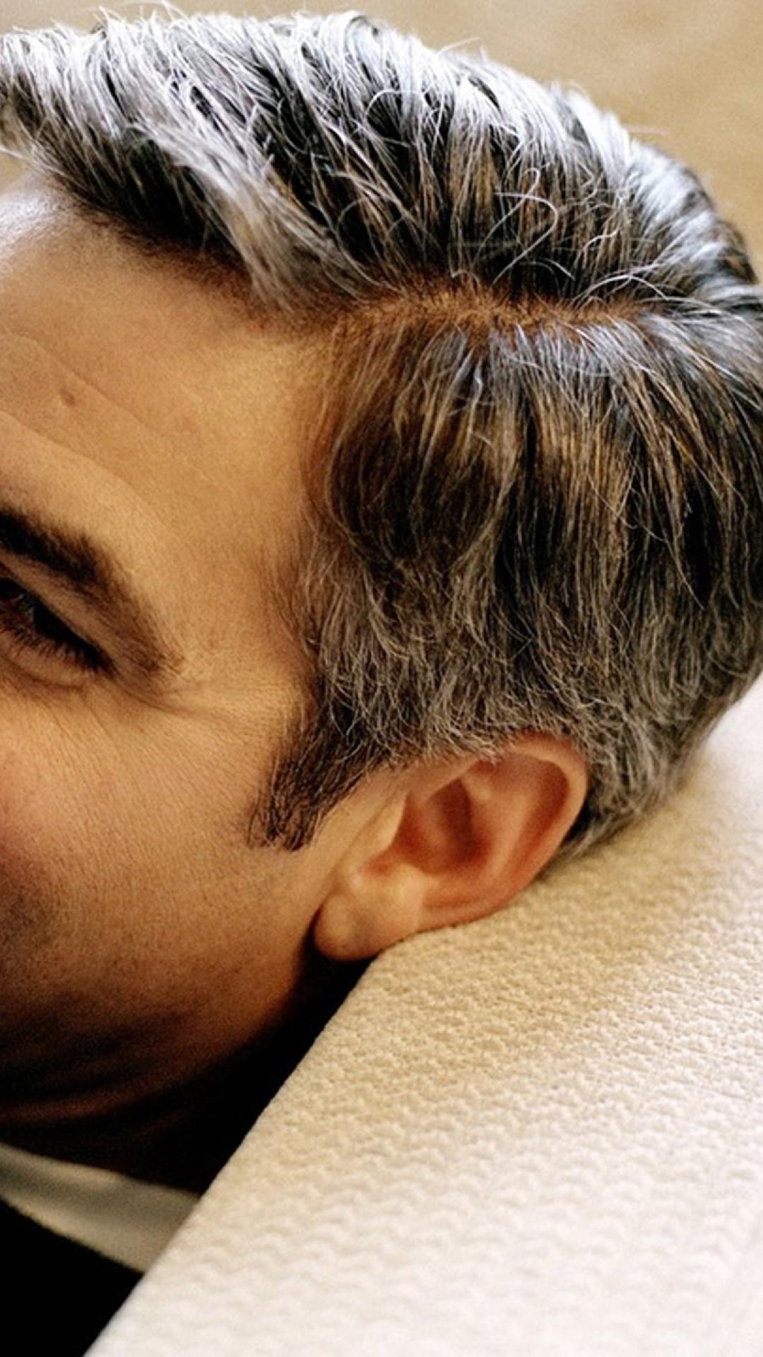 George Clooney Smile wallpaper 1080x1920