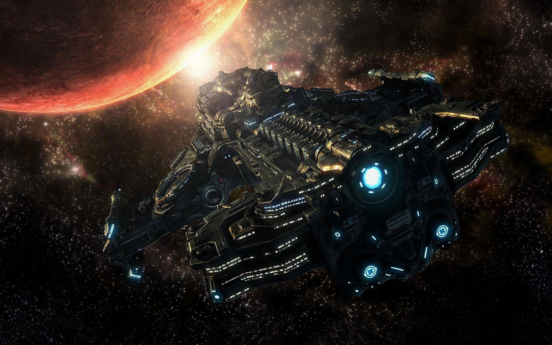 Space Ship Wallpapers 1920x1200