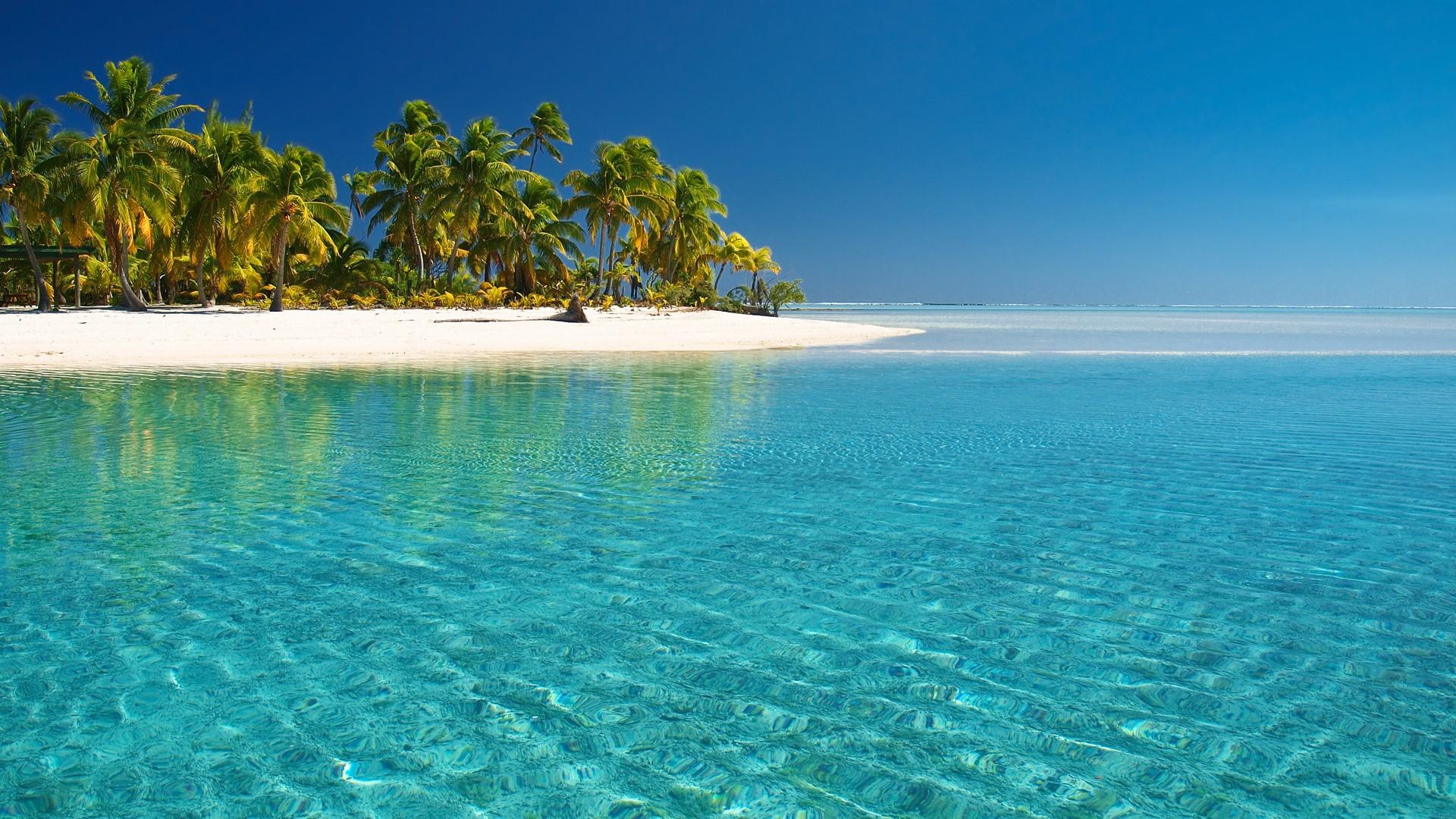 обои море пляж на рабочий стол скачать бесплатно 1920x1080 № 230455 загрузить