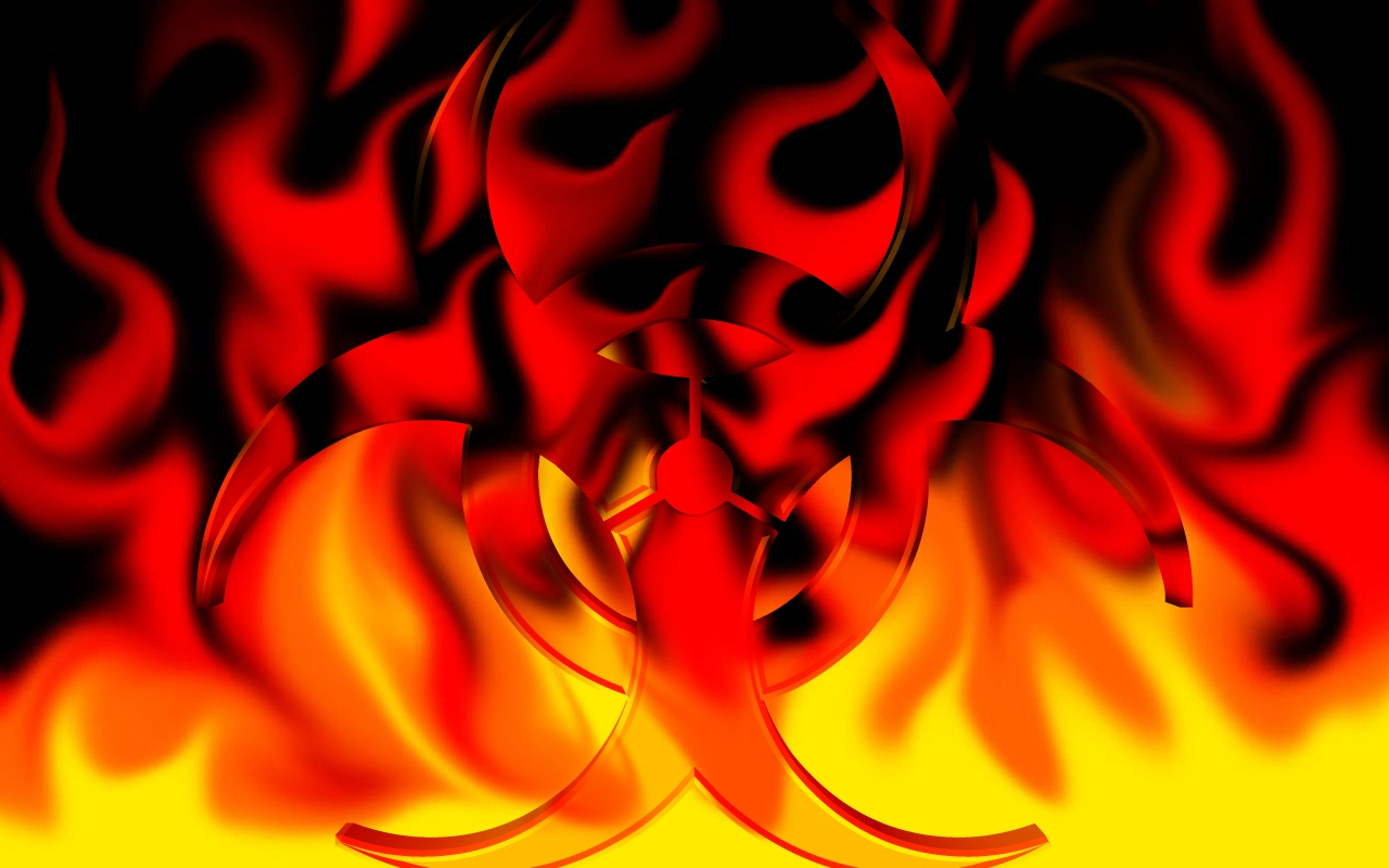 Cool Fire Wallpapers 1280x800