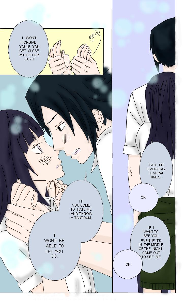 Sasuke and Hinata scene by Blackmoontiger 728x1190