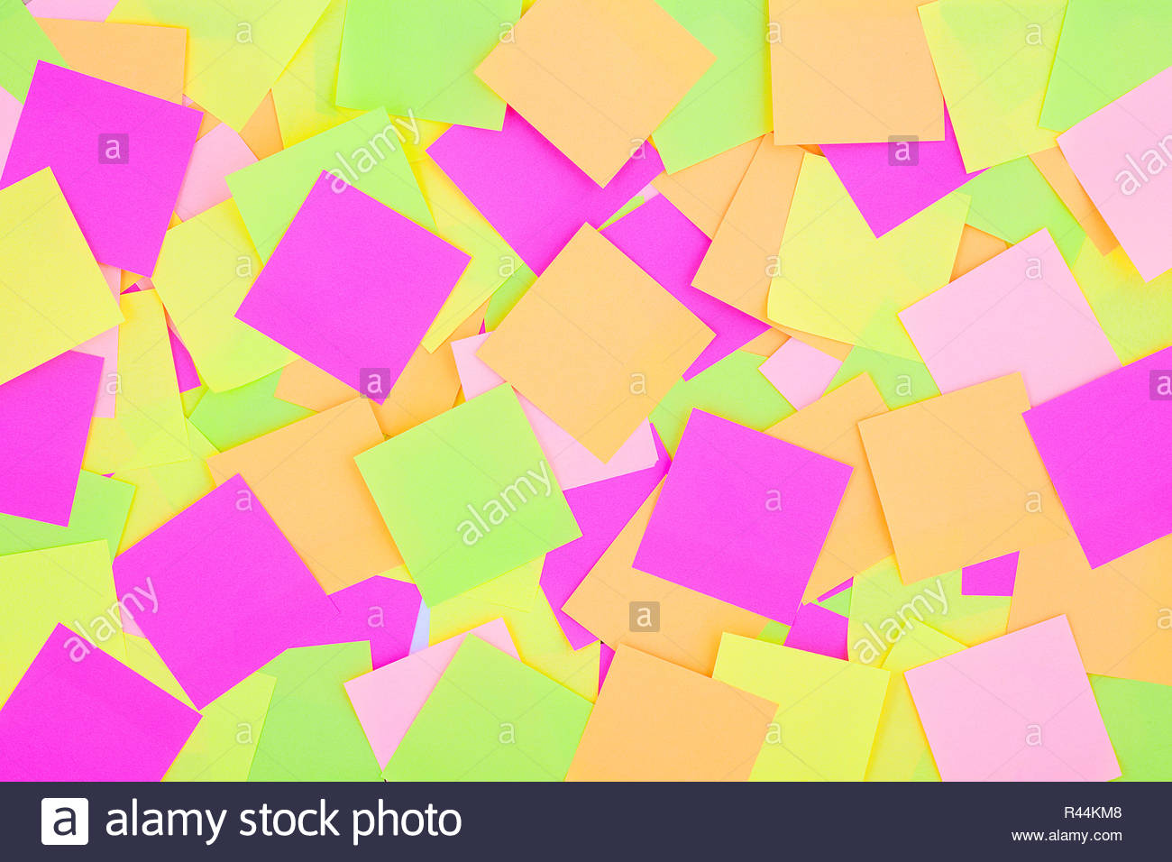Many colorful post it notes background Radiant colorful reminder 1300x956