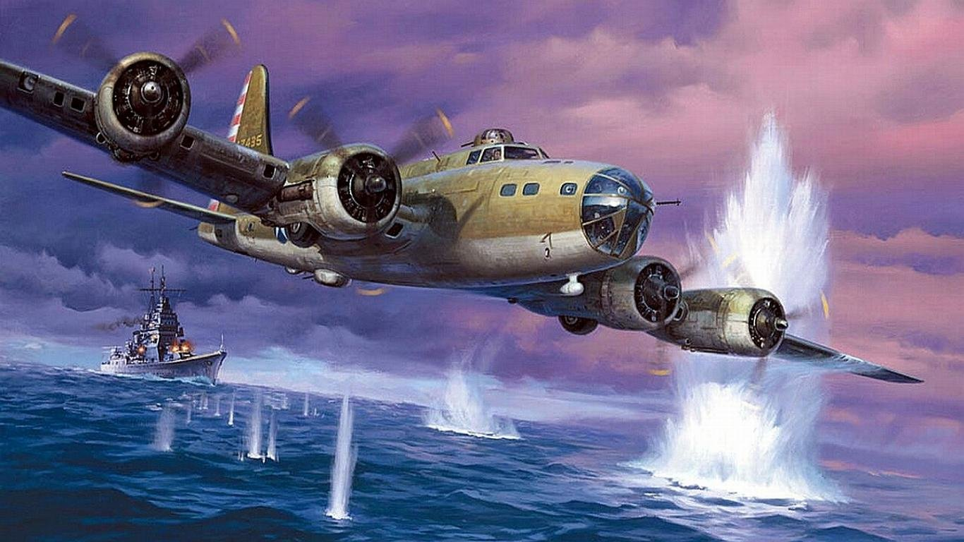 Best Boeing B 17 Flying Fortress wallpaper ID214164 for High 1366x768