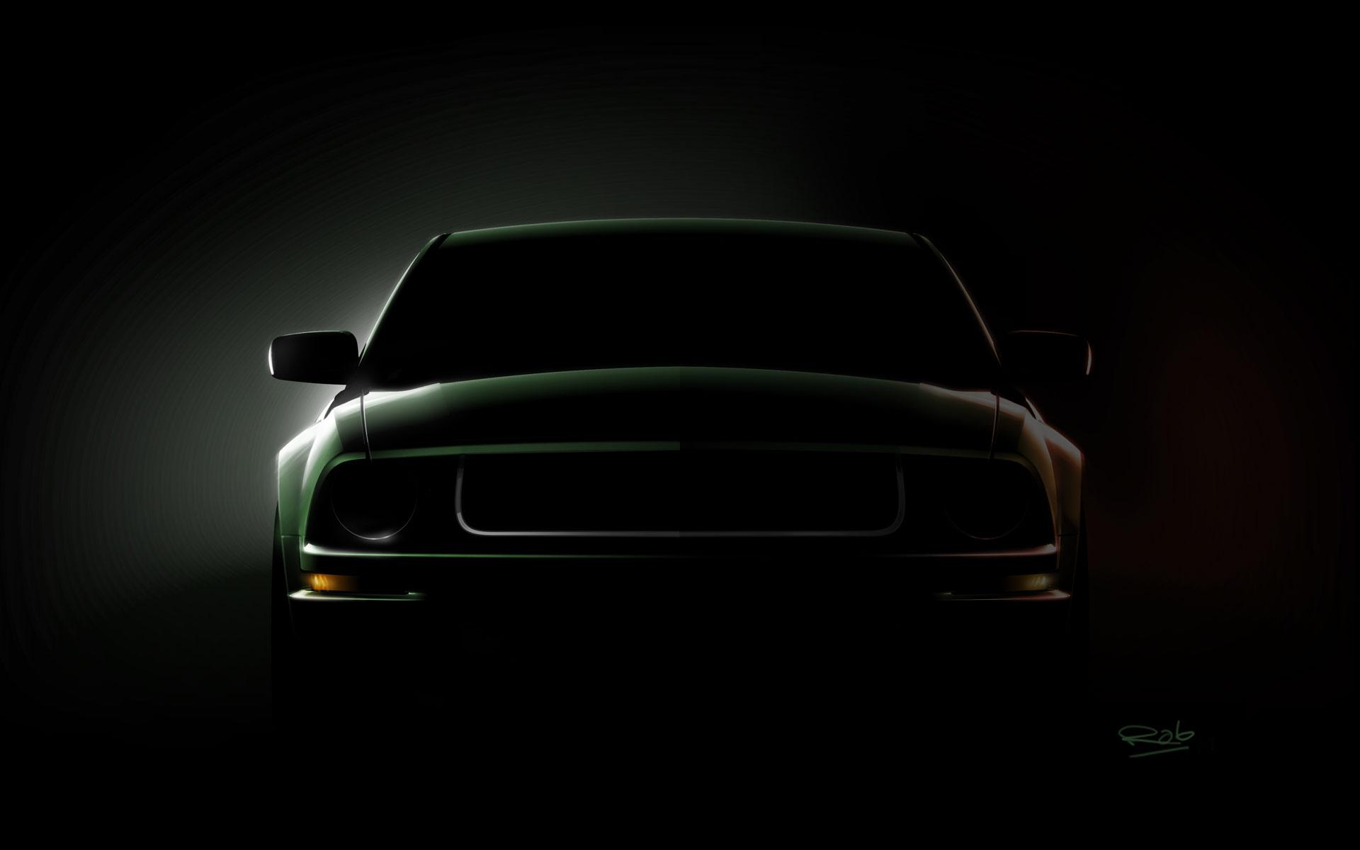 Wallpaper ford mustang animaatjes 47 Wallpaper 1920x1200