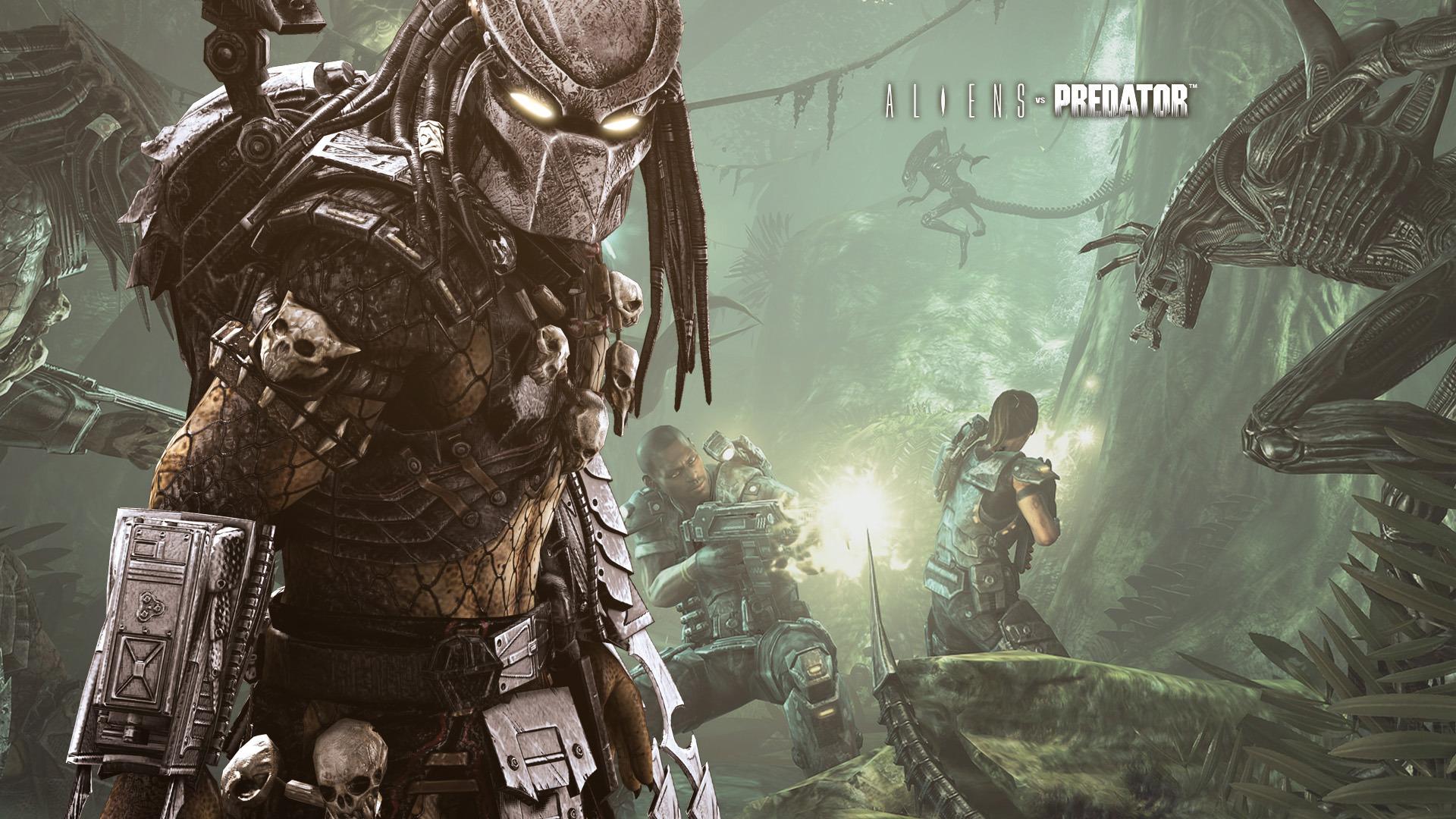 Download Aliens Vs Predator Game Wallpaper Full HD Wallpapers 1920x1080