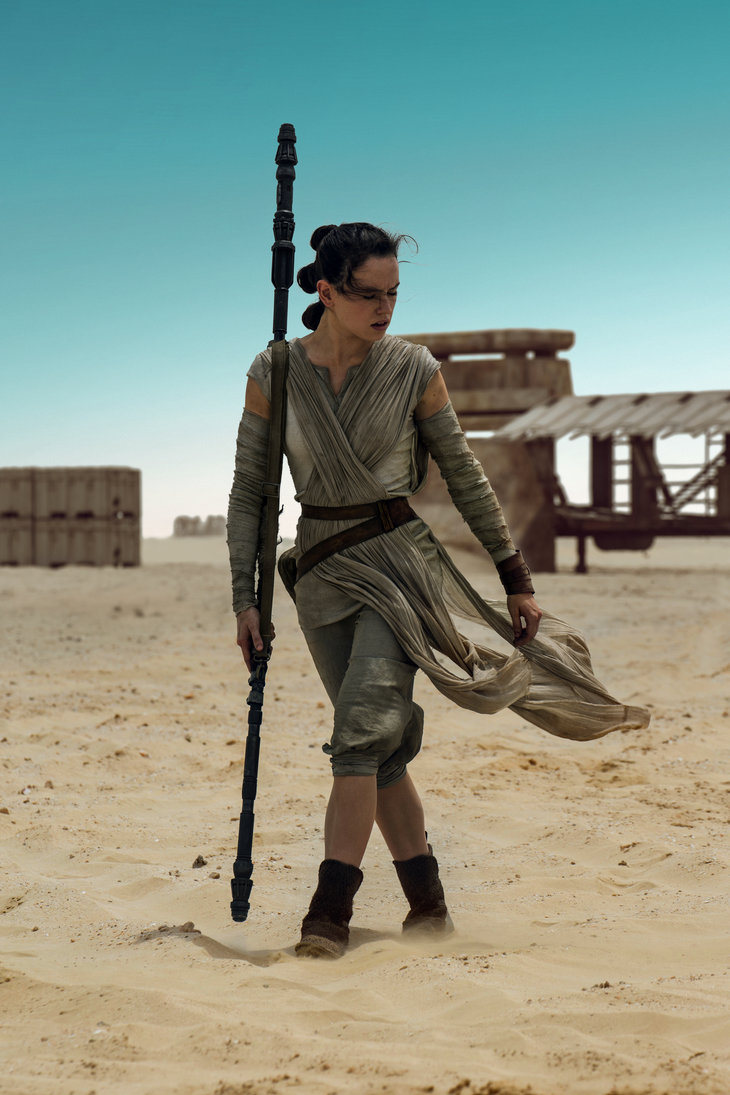 Star Wars The Force Awakens Rey Wallpaper Download Movie and 730x1095