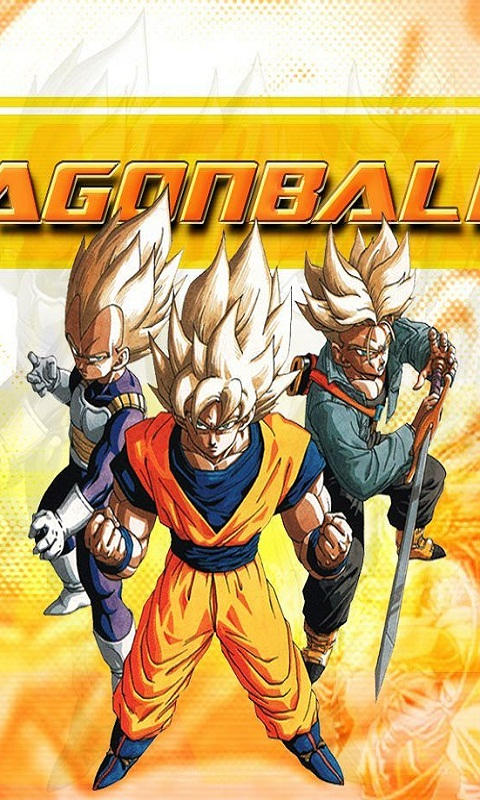 mobile phone screen dragon ball z 02 hd wallpaper for my cell phone 480x800