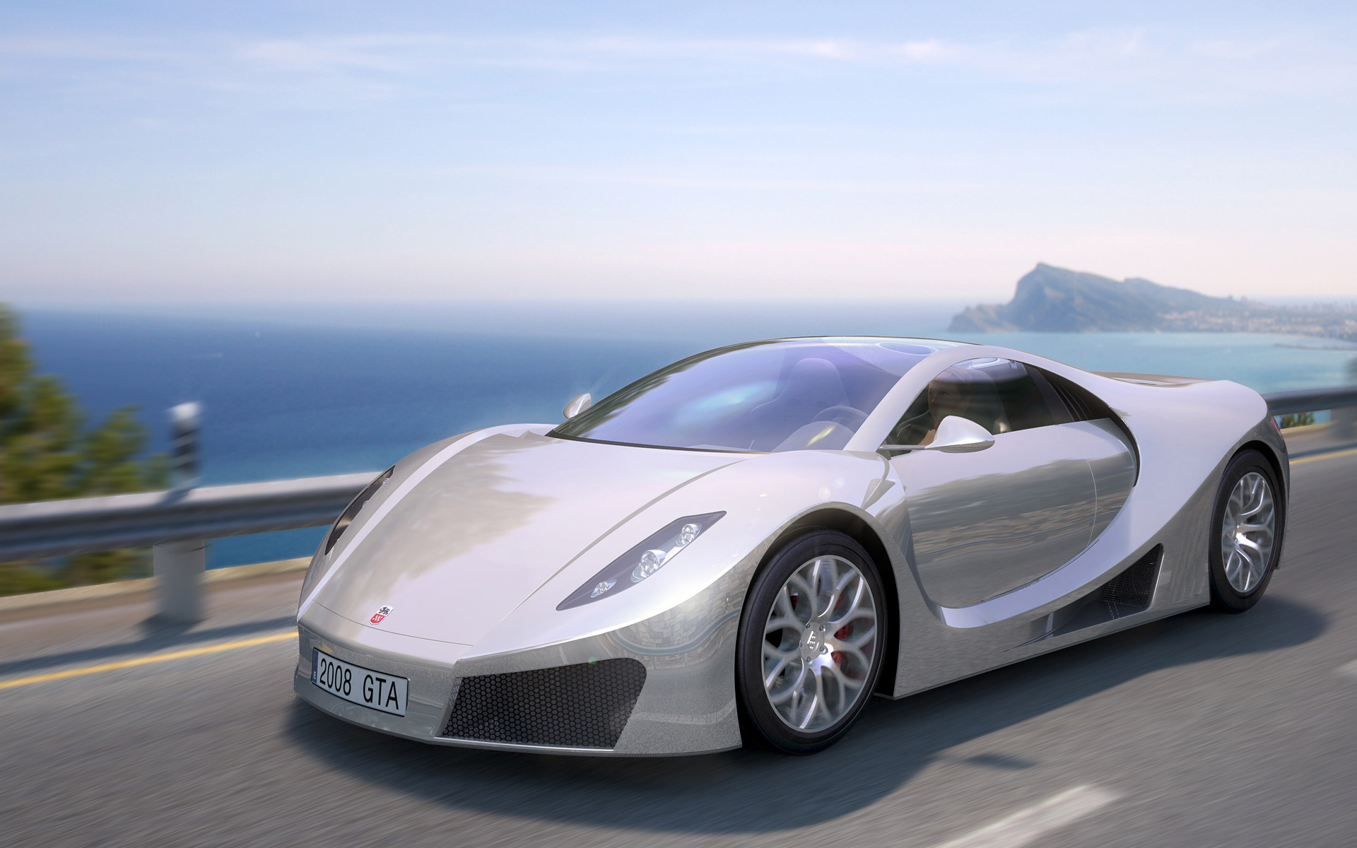 GTA Concept Super Sport Car 3 Wallpapers HD Wallpapers 1920x1200