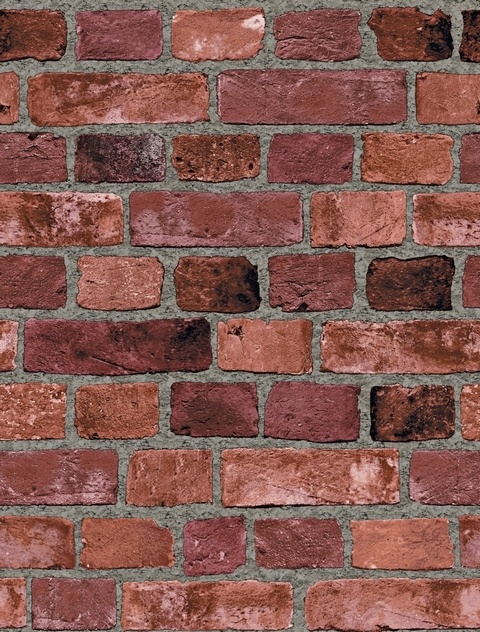 faux brick wall covering home Pinterest 480x632