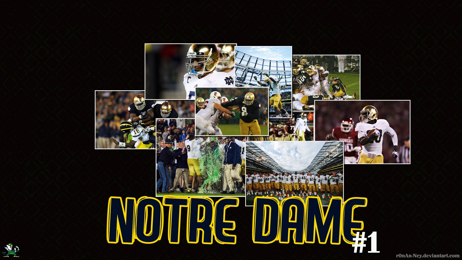 Notre Dame Fighting Irish Desktop Wallpaper Collection 1920x1080