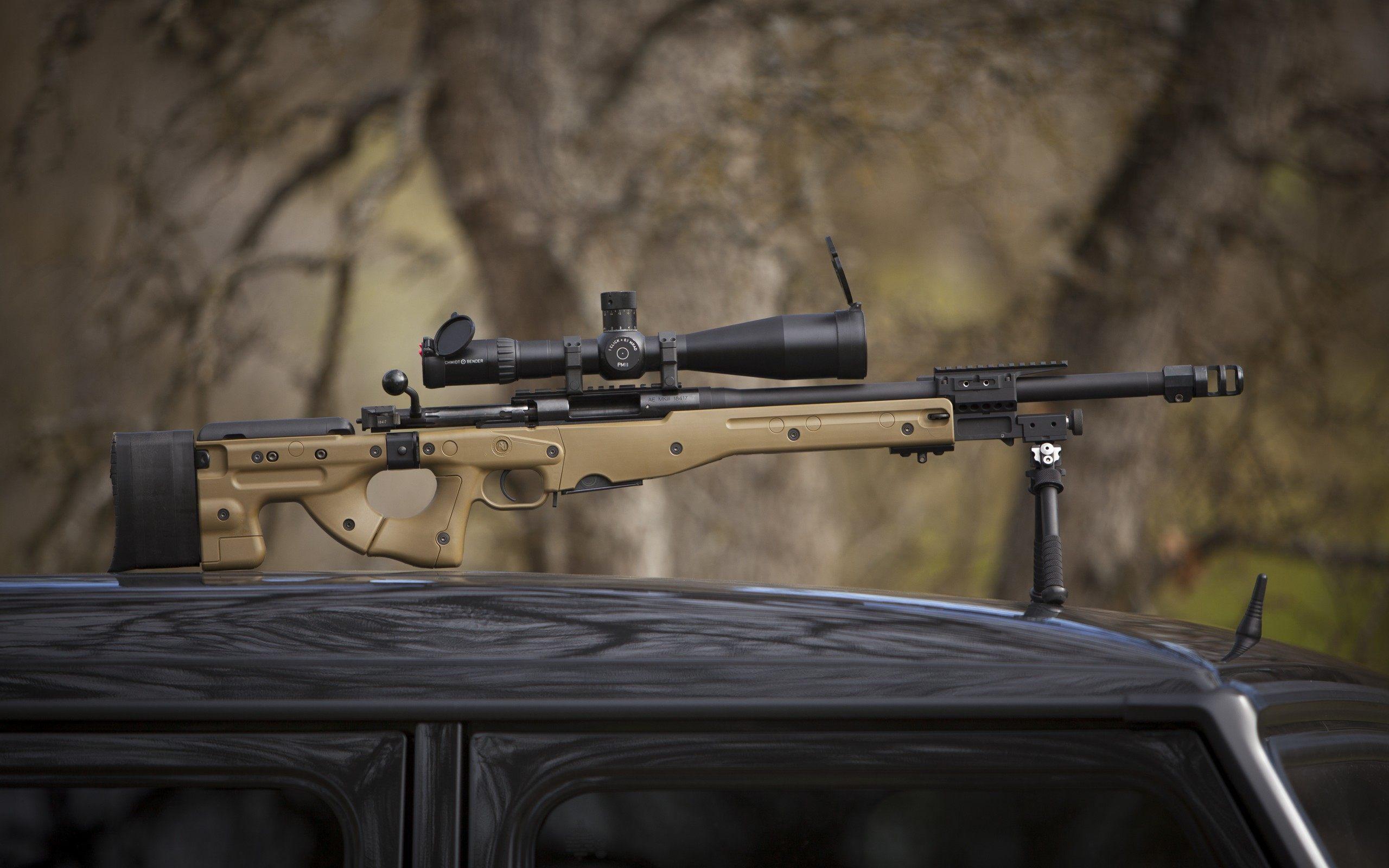 Dragunov Sniper Rifle Wallpaper Hd
