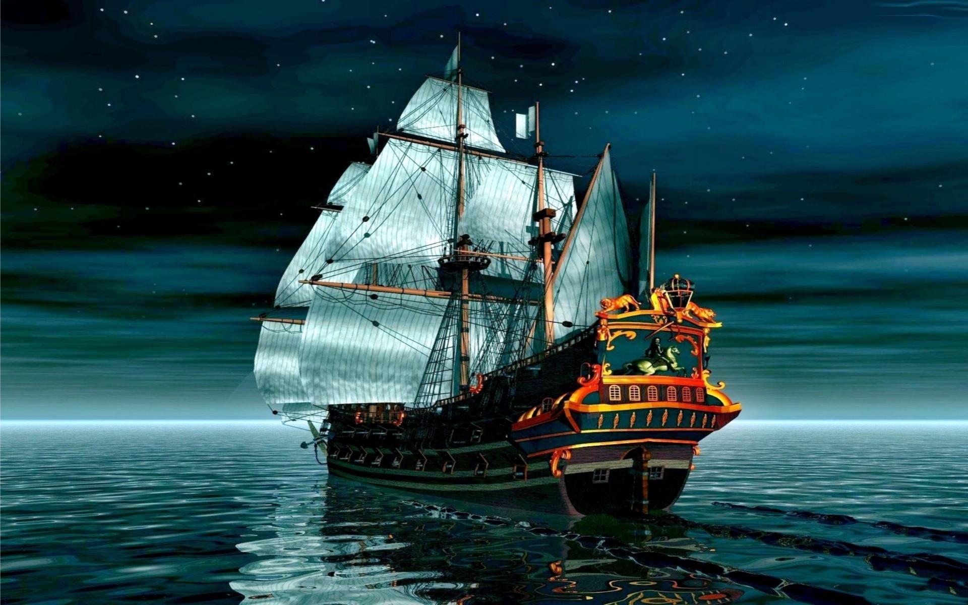 Free Download Pirate Ship 3d 4k Wallpapers 4k Wallpaper