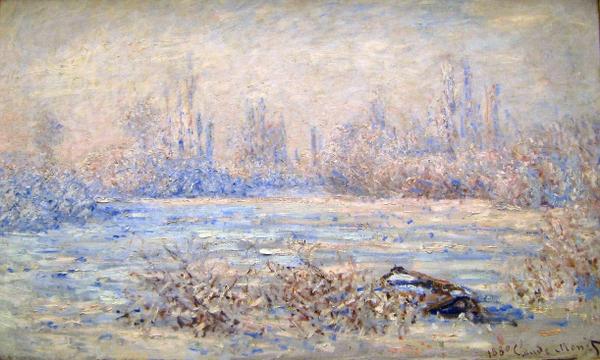 monet impressionism Winter Wallpapers Desktop Wallpapers 600x360