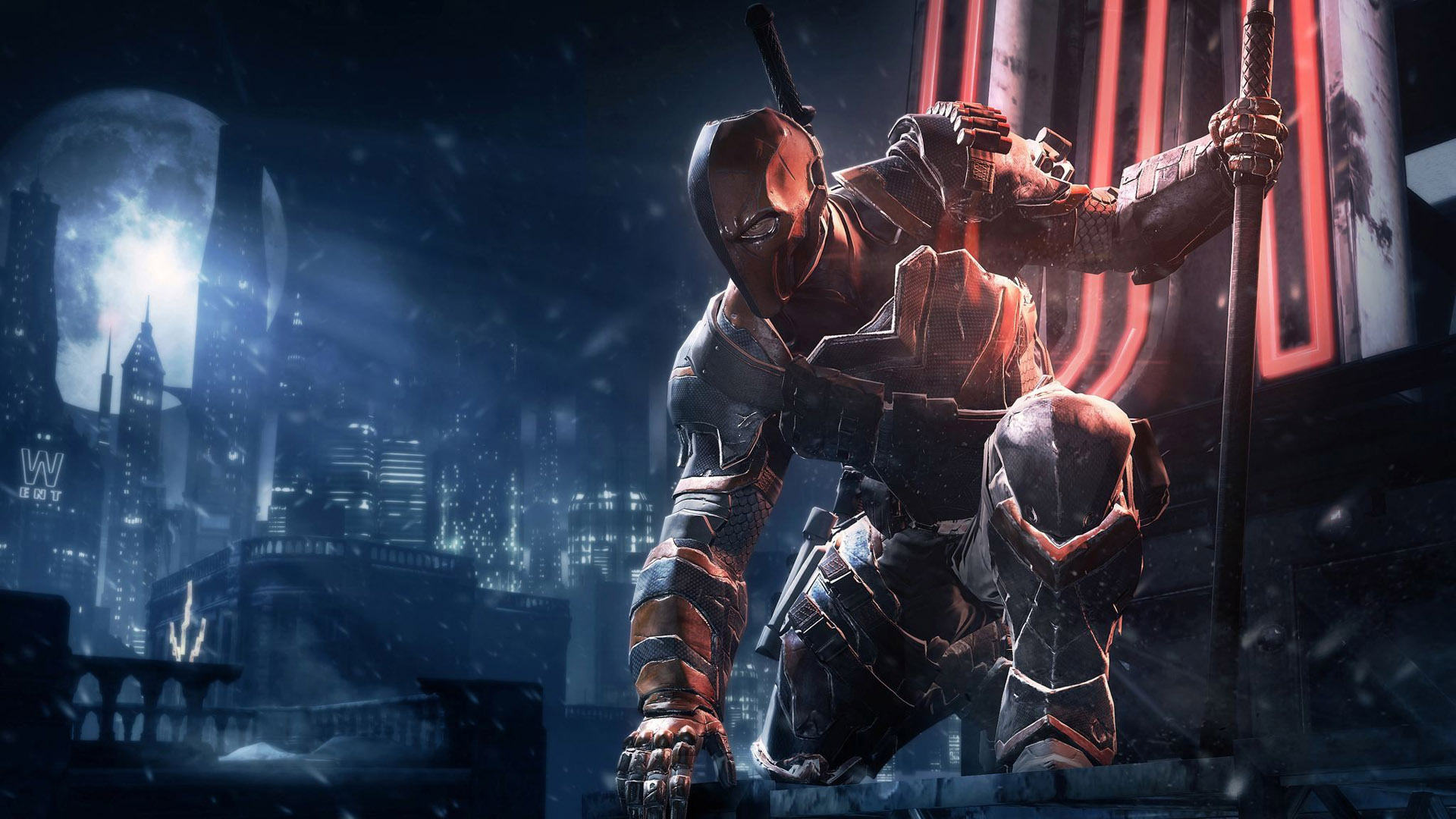 Deathstroke   Batman   Arkham Origins wallpaper 14833 1920x1080
