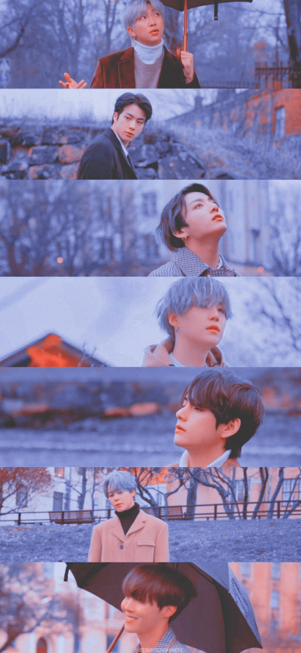 2020 BTS WINTER PACKAGE PREVIEW SPOT 2 Lockscreen Wallpapers 1024x2218